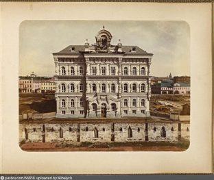 Первым был построен центральный корпус Политехнического музея, 1881 • Фото:pastvu.com/p/66858